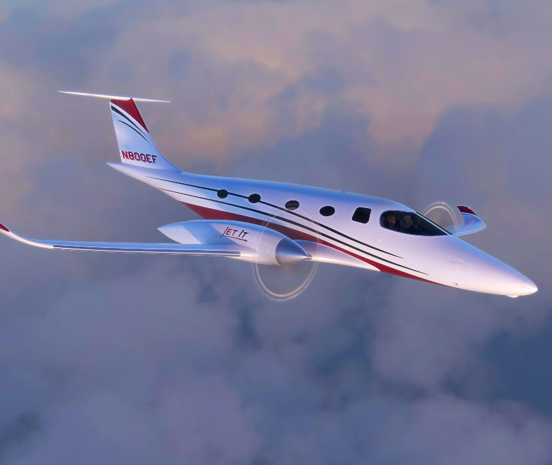 JetClub flies into a sustainable future with Bye Aerospace 'eFlyer 800' electric aircraft